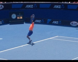 Matosevic serves it up
