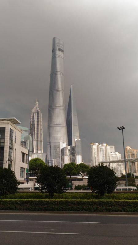 The Shanghai Tower, second tallest building in the World
