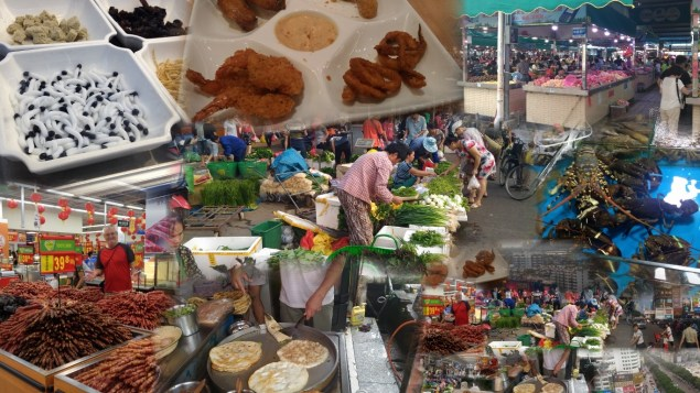 Street food Collage