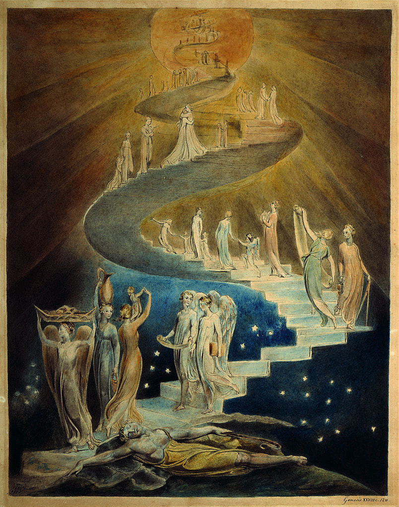 Image result for jacob's ladder william blake
