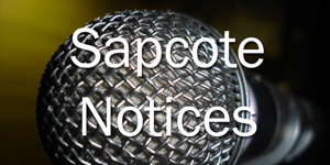 Sapcote Notices – 22nd November 2015