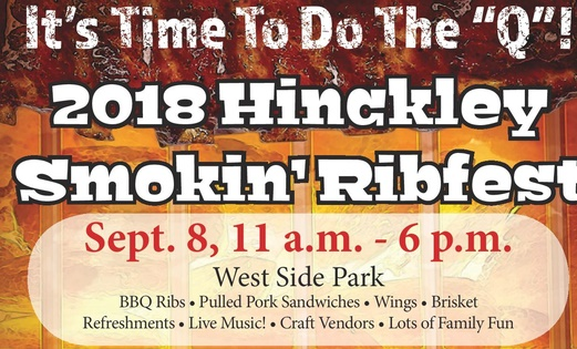 Hinckley Smokin Ribfest half poster image