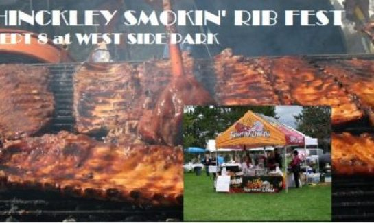 Hinckley Smokin Ribfest. Ribfest competition. Open class competition. Famous Dave's and other best ribs in MN
