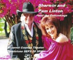 Midwest Country Theater in Sandstone MN with Sherwin and Pam Linton