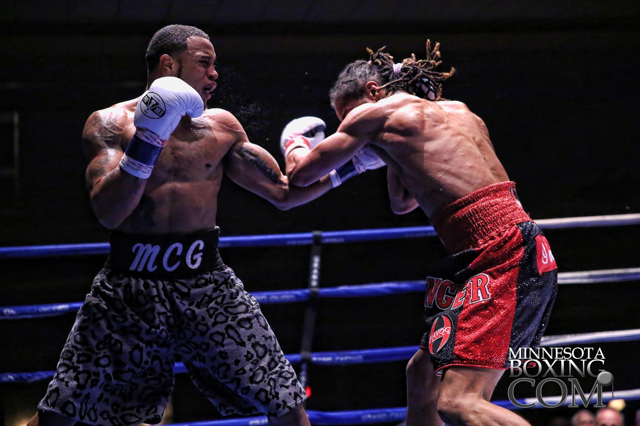 Boxing matches at Grand Casino Hinckley image Caraway