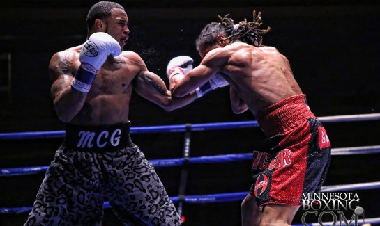 Boxing matches at Grand Casino Hinckley image Caraway