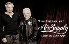 Air Supply Live in concert