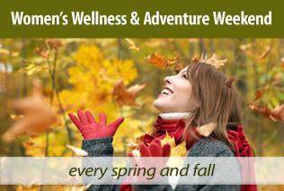 Women's Wellness weekend at Audubon Center