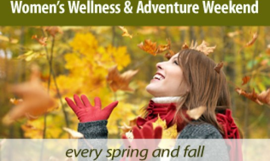 Women's Wellness weekend at Audubon Center