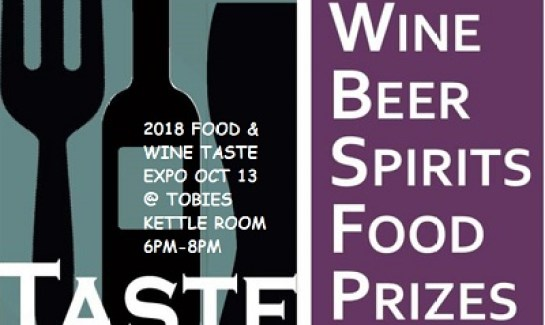 Wine Tasting and Food Expo at Tobies Hinckley MN 2018
