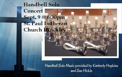 St. Paul Lutheran Church Hinckley concert of Handbell Solo