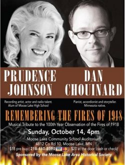 Remembering the Fires of 1918 at Moose Lake MN Auditorium