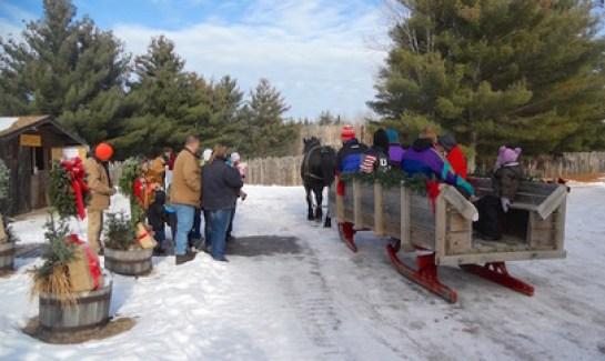 Christmas at Forts Folle Avoine 2018