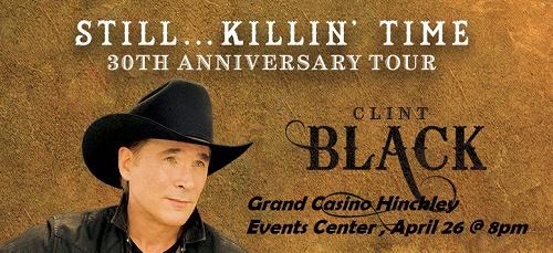 Clint Black at Grand Casino Hinckley MN