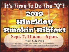 Ribfest in Hinckley MN