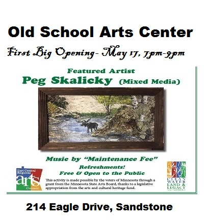 Old School Arts Center Sandstone MN Season Opening