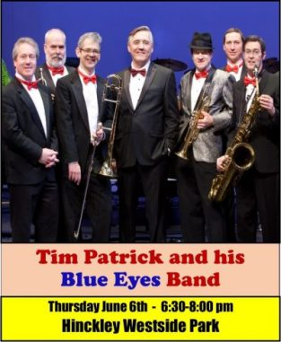 Sweet Summer Sounds presents Tim Patrick & his Blue Eyes Band in Hinckley Westside Park