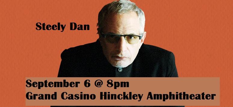 Steely Dan concert Grand Casino HInckley 2019