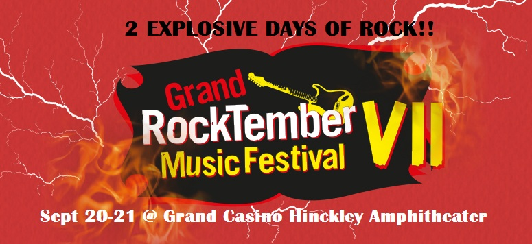 Rocktember 2019 Grand Casino HInckley MN