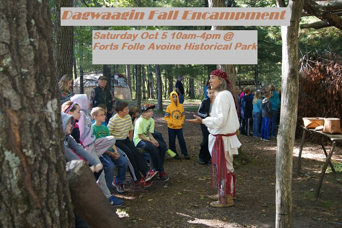 Forts Folle Avoine Fall Encampment