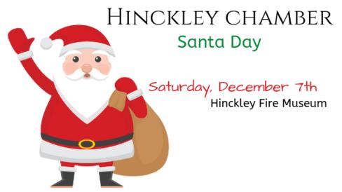 Hinckley MN Christmas Santa Day 2019