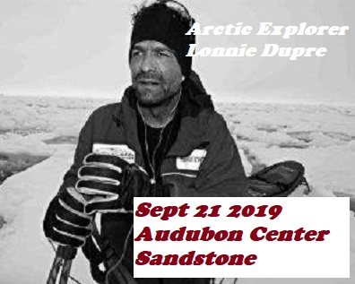 Lonnie Dupre Arctic Explorer at Audubon Center