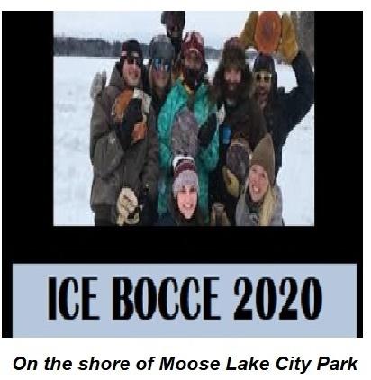 Ice Bocce at Moose Lake MN