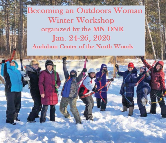 MN DNR Winter Workshop on Becoming an Outdoors Woman