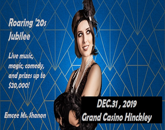 New Year at Grand Casino Hinckley Roaring 20s