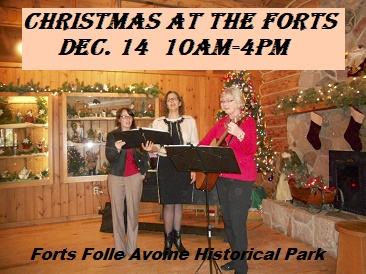 Christmas at Forts Folle Avoine