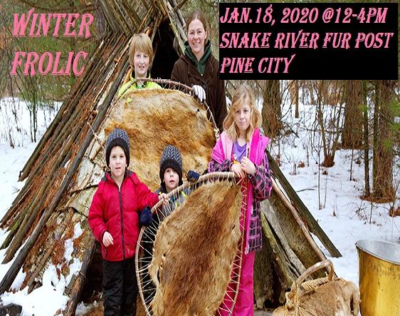 Winter Frolic Snake River Fur Post 2020