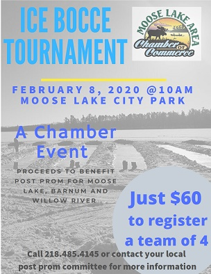 Ice Bocce 2020 flyer
