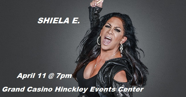 Shiela E at Grand Casino Hinckley