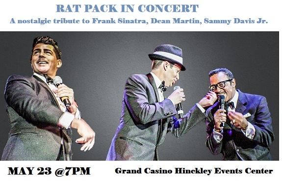 Rat Pack Tribute at Grand Casino Hinckley