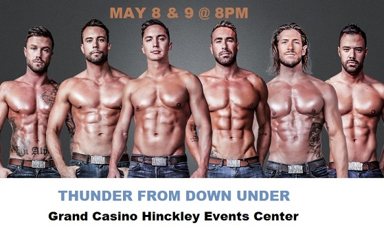 Thunder from Down Under at Grand Casino Hinckley