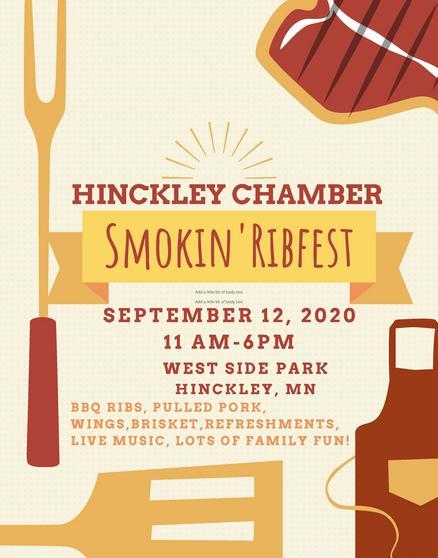 Hinckley MN Ribfest