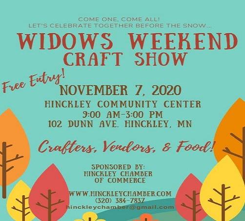 Craft Show, Hinckley MN, Widows Weekend