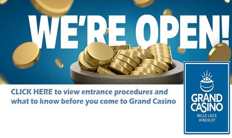 Grand Casino, Hinckley MN, casino, gaming