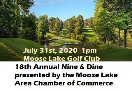 golf, moose lake, mn