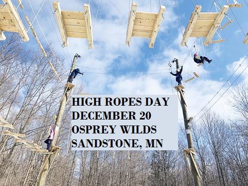 winter, ropes, osprey wilds, sandstone