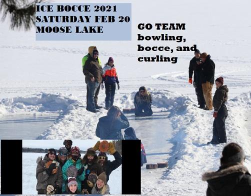 curling, ice bocce, moose lake, mn