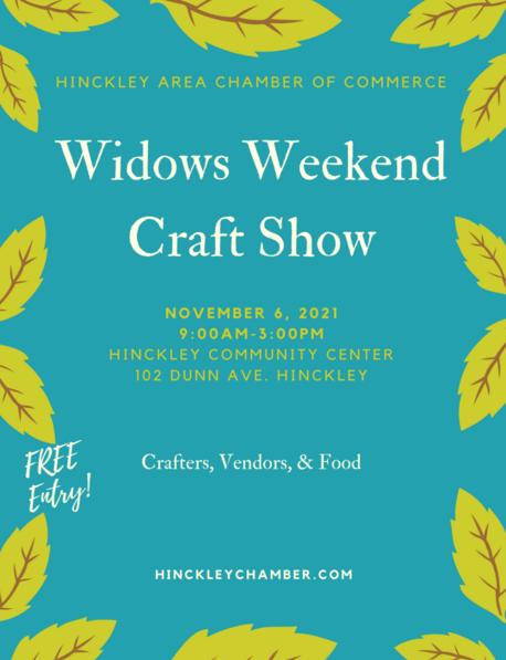 widows, craft, show, hinckley mn