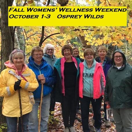 wellness, women, fall events, sandstone