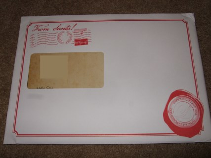 christmas envelope 1