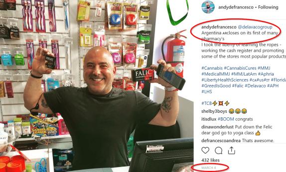 Andrew DeFrancesco's Regretful Instagram Post