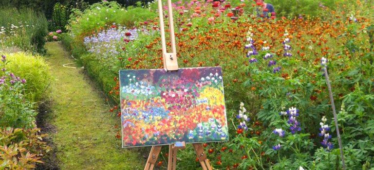 Heerlijk schilderen op Hindersteyn