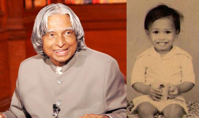 A P J Abdul Kalam's Childhood Picture