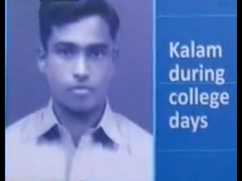 A P J Abdul Kalam during College
