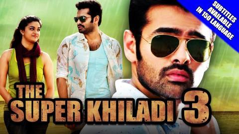 hindi dubbed movies of ram pothineni - the super khiladi 3 poster