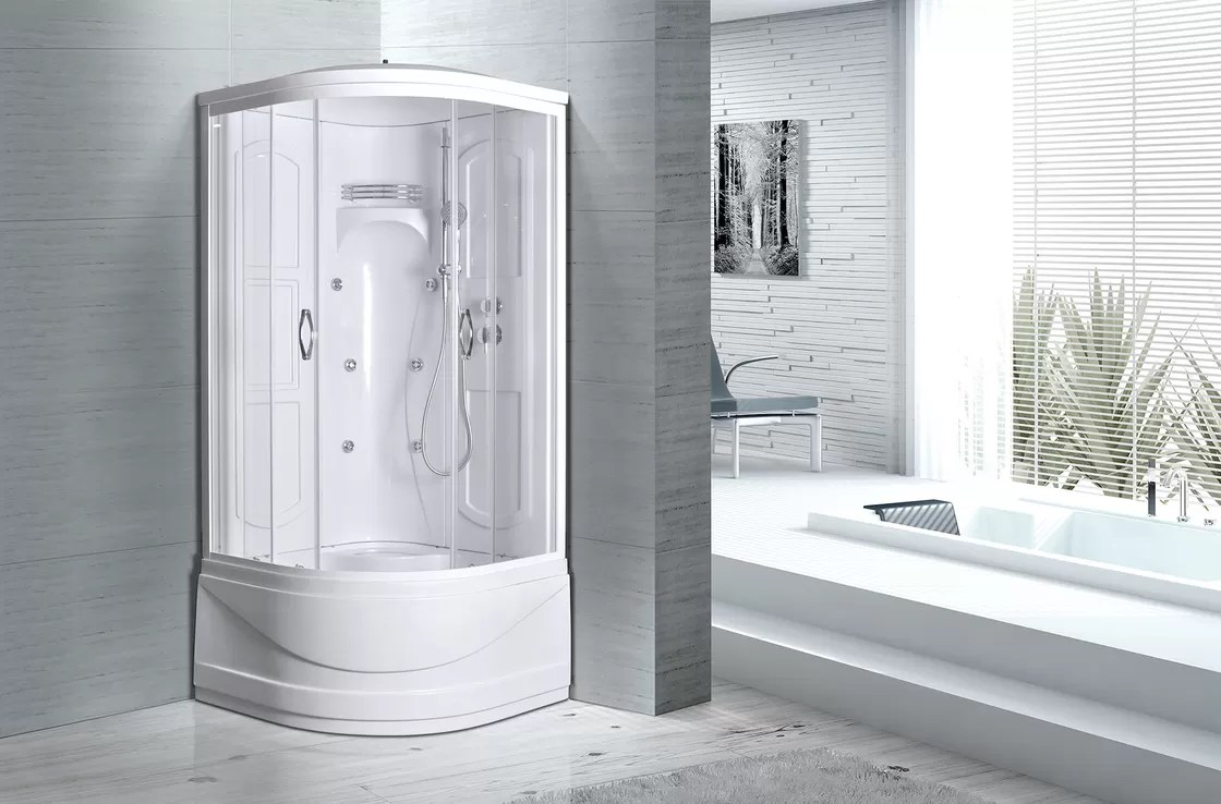 Multi Function Luxury Replacement Shower Stalls Kits 3 In 1